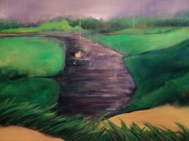 "Transition, Acrylic on canvas, 36"" x 48"", $3,000"